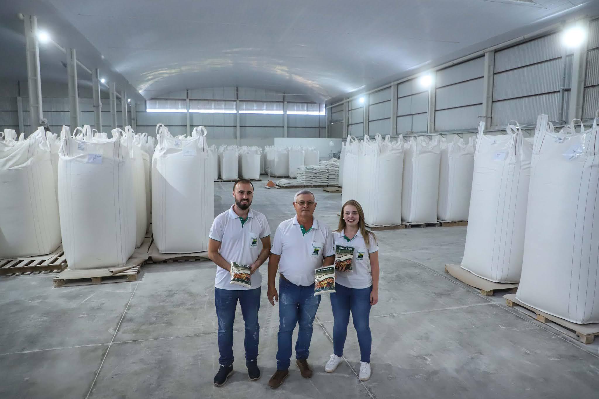 roders e filhos - Indústria paranaense produz 70% da Fécula de mandioca do país